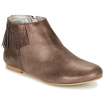 Schuhe Damen Boots Ippon Vintage DOLLY MAGIC Beige / Gold