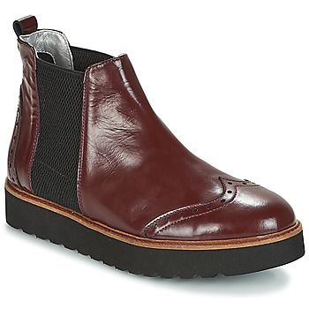 Schuhe Damen Boots Ippon Vintage HUNTER THICK Bordeaux