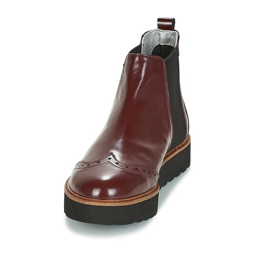 Ippon Vintage HUNTER THICK Damen Bordeaux  Schuhe Boots Damen THICK 162,50 cad378