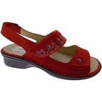 Schuhe Damen Sandalen / Sandaletten Calzaturificio Loren LOM2716ro rosso