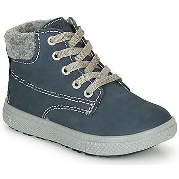 Schuhe Jungen Boots Primigi BARTH 19 Marine / Grau