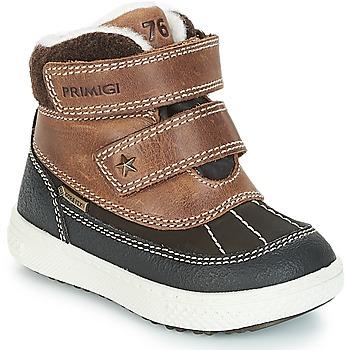 Schuhe Jungen Boots Primigi 2372600 PBZGT GORE-TEX Braun