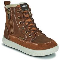 Schuhe Jungen Boots Primigi PCA 24130 Braun