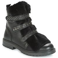 Schuhe Mädchen Boots Primigi CHRIS Schwarz