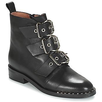 Schuhe Damen Boots Jonak DIRCE Schwarz