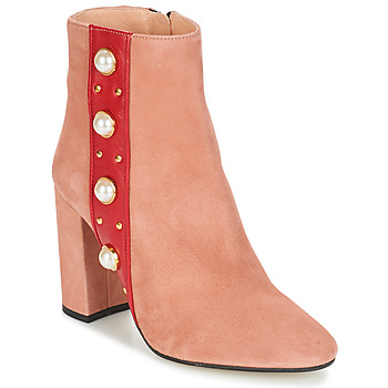 Schuhe Damen Low Boots Jonak CHERRY Rose