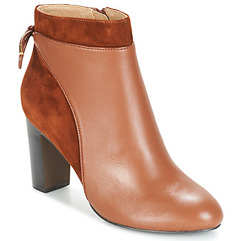 Schuhe Damen Low Boots Jonak BEAR Cognac