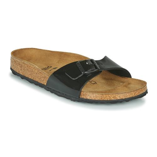 Birkenstock MADRID Schwarz - Schuhe Pantoffel Damen 55,74