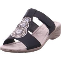 Schuhe Damen Pantoffel Jane Klain Pantoletten bis 30mm BLACK 003