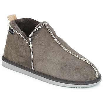 Schuhe Herren Hausschuhe Shepherd ANDY Grau