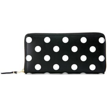 Taschen Damen Portemonnaie Comme Des Garcons Comme des Garçons Portemonnaie in Schwarz mit weißen Punkten Schwarz