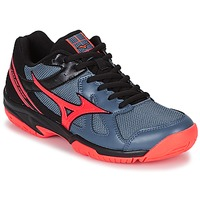 Schuhe Damen Indoorschuhe Mizuno CYCLONE SPEED Schwarz / Grau / Orange