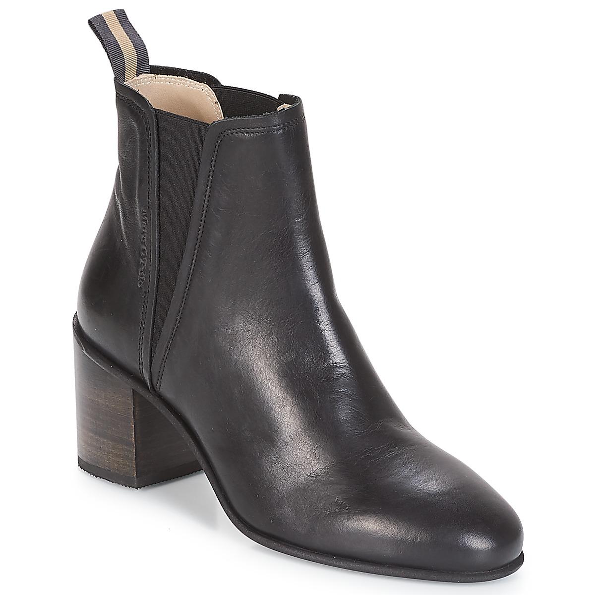 Marc O'Polo CAROLINA Schwarz - Kostenloser Versand bei Spartoode ! - Schuhe Low Boots Damen 189,00 €