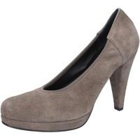 Schuhe Damen Pumps Calpierre pumps beige wildleder AJ405 beige
