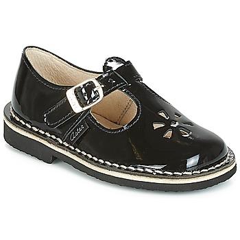 Schuhe Kinder Ballerinas Aster DINGO Schwarz