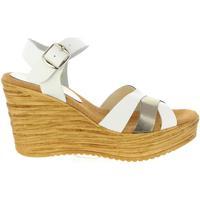 Schuhe Damen Sandalen / Sandaletten Cumbia 31001 Blanco