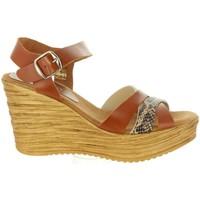Schuhe Damen Sandalen / Sandaletten Cumbia 31001 Marrón