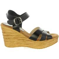 Schuhe Damen Sandalen / Sandaletten Cumbia 31001 Negro