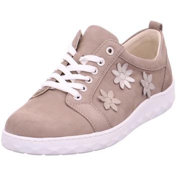 Schuhe Damen Derby-Schuhe & Richelieu Waldläufer Beq.bis25mm-Abs/Keil taupe/l.gold/platin