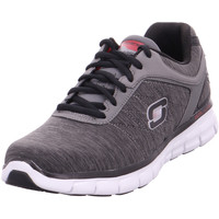 Schuhe Sneaker Skechers Synergy - Instant Reaction,Gra charcoal/red