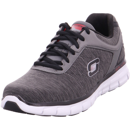 Skechers Synergy - Instant Reaction,Gra charcoal/red