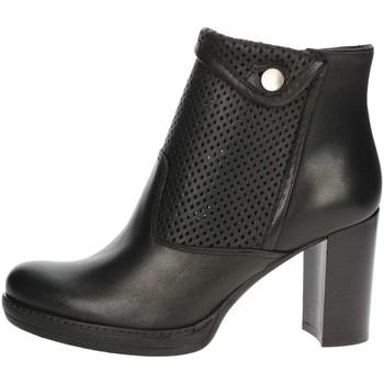 Schuhe Damen Ankle Boots Genus Millennium P500/FR Schwarz