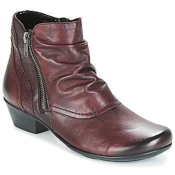 Schuhe Damen Low Boots Remonte Dorndorf SORIAL Rot