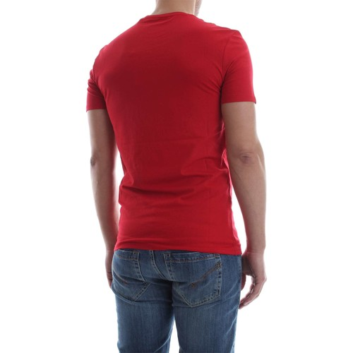 Guess M82I32 J1300 ORIGINAL TEE T-SHIRT Herren RED RED