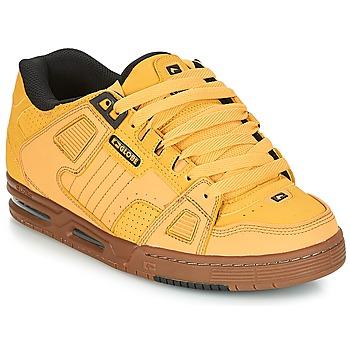 Schuhe Herren Sneaker Low Globe SABRE Gelb