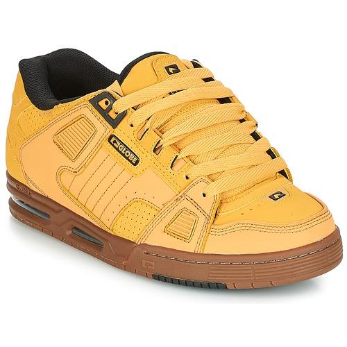 Globe SABRE Gelb  Schuhe Sneaker Low Herren 109