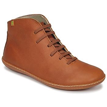 Schuhe Damen Boots El Naturalista EL VIAJERO Braun