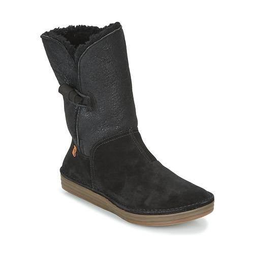 El Naturalista RICE FIELD Schwarz  Schuhe Boots Damen 179,95