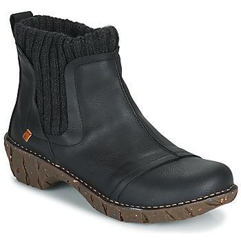 Schuhe Damen Boots El Naturalista YGGDRASIL Schwarz