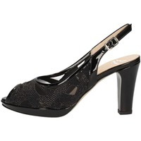 Schuhe Damen Sandalen / Sandaletten Musella 018510 Sandale Frau Schwarz Schwarz