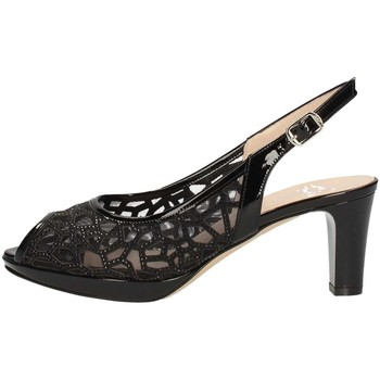 Schuhe Damen Sandalen / Sandaletten Musella 018535 Sandale Frau Schwarz Schwarz