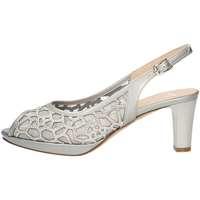 Schuhe Damen Sandalen / Sandaletten Musella 018535 SILVER