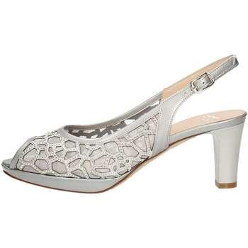 Schuhe Damen Sandalen / Sandaletten Musella 018535 Sandale Frau Silber Silber