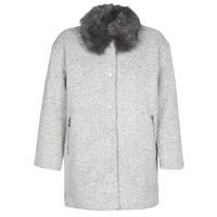 Kleidung Damen Mäntel Le Temps des Cerises DUCHESSE Grau