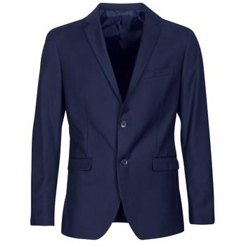 Kleidung Herren Jacken / Blazers Sisley FASERTY Marine