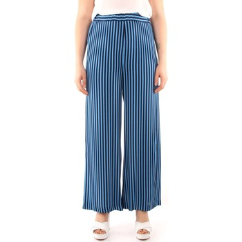 Kleidung Damen Fließende Hosen/ Haremshosen Iblues GREGORY Hosen Frau night blue night blue