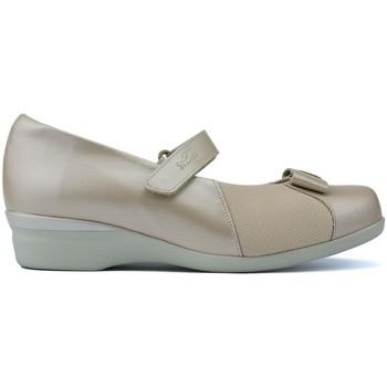 Schuhe Damen Ballerinas Dtorres LETINAS  ALMA W BEIGE