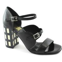 Schuhe Damen Sandalen / Sandaletten Bp Zone BPZ-E18-R2801N-NE Nero