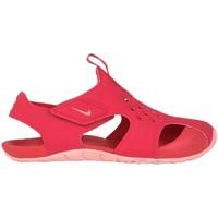 Schuhe Kinder Sandalen / Sandaletten Nike Sunray Protect 2 PS Rose