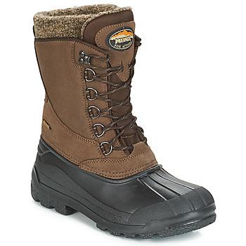 Schuhe Damen Schneestiefel Meindl SOLDEN Braun