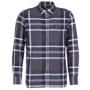 Kleidung Herren Langärmelige Hemden Oxbow CAMPO Marine