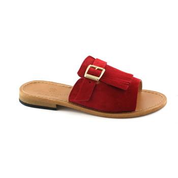 Schuhe Damen Pantoffel Antichi Romani ANT-E18-845-RO Rosso