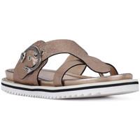 Schuhe Damen Sandalen / Sandaletten Elvio Zanon SANDALO CRACKEL Grigio