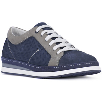 Schuhe Herren Sneaker Low Igi&co NABOUK MORBIDO Blu