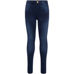 Kleidung Mädchen Slim Fit Jeans Name it NKFPOLLY DNMTRILLE 3001 PANT blau