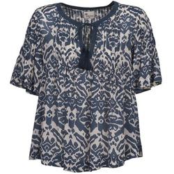 Kleidung Damen Tops / Blusen Stella Forest ANNAICK Naturfarben / Blau